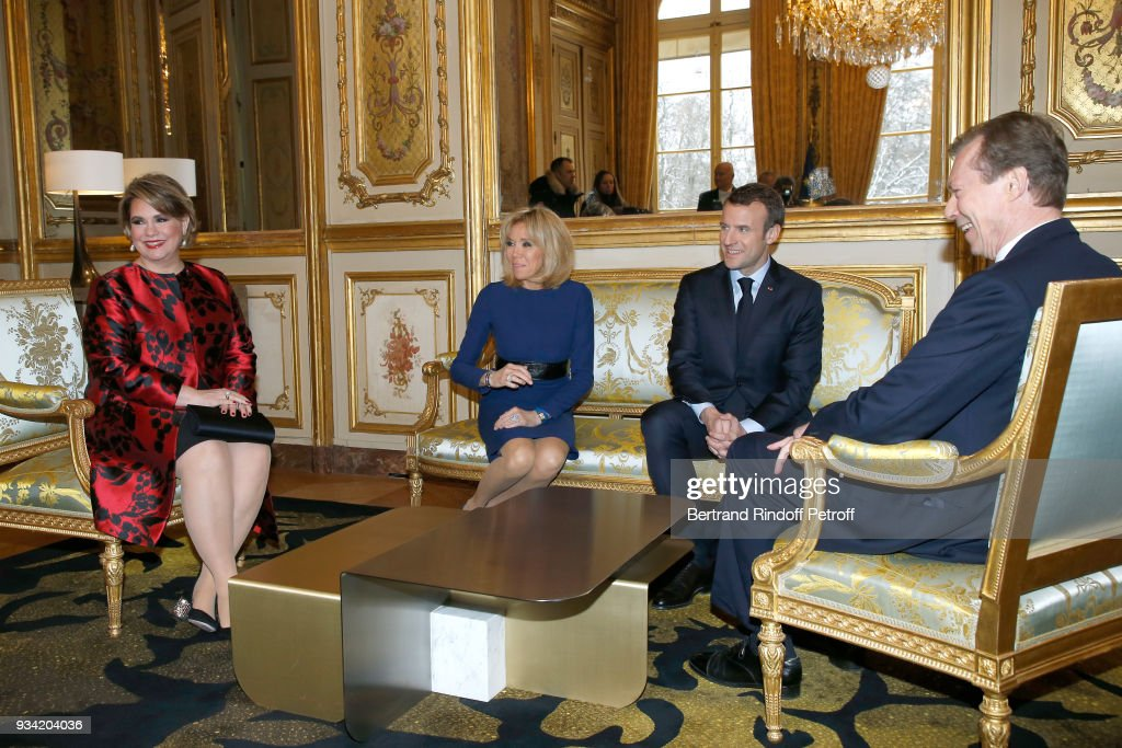 Official Visit Of Grand-Duc Henri Of Luxembourg and Grande-Duchesse Maria Teresa Of Luxembourg : Day Two : News Photo