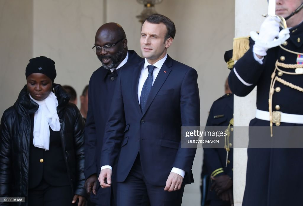 FRANCE-LIBERIA-DIPLOMACY : News Photo