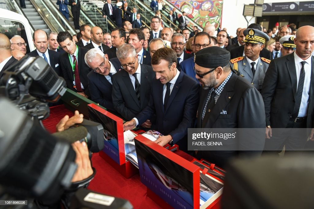 MOROCCO-FRANCE-POLITICS-DIPLOMACY-TRANSPORT-RAIL : News Photo