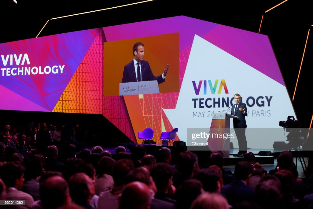 Salon Viva Technology 2018, Startup connect : Day One