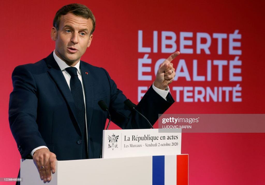 FRANCE-GOVERNMENT-SEPARATISM : News Photo