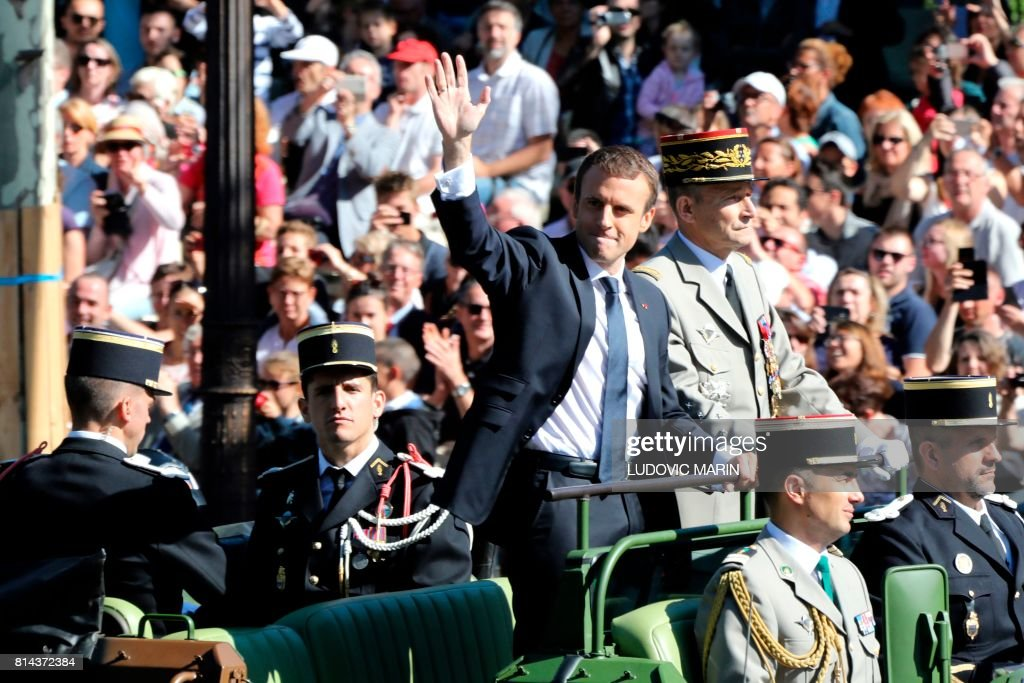 FRANCE-BASTILLE-DAY-PARADE : News Photo