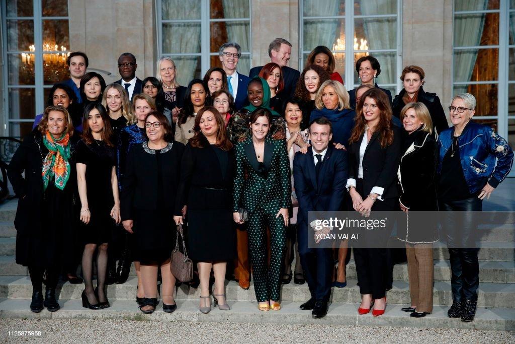 FRANCE-POLITICS-GENDER-MEETING : Nachrichtenfoto