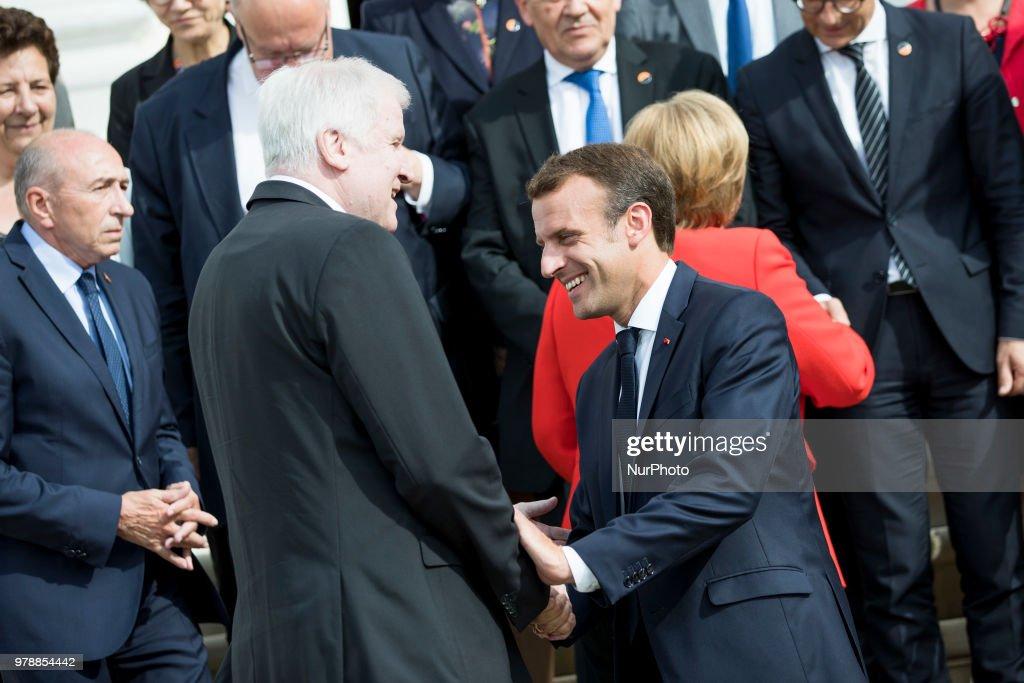 German-French Ministers Meeting in Meseberg