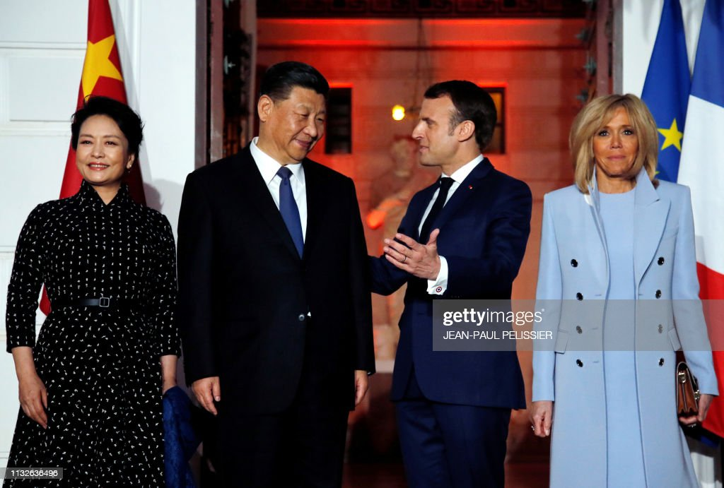 FRA: Chinese President Xi Jinping on official visit to France