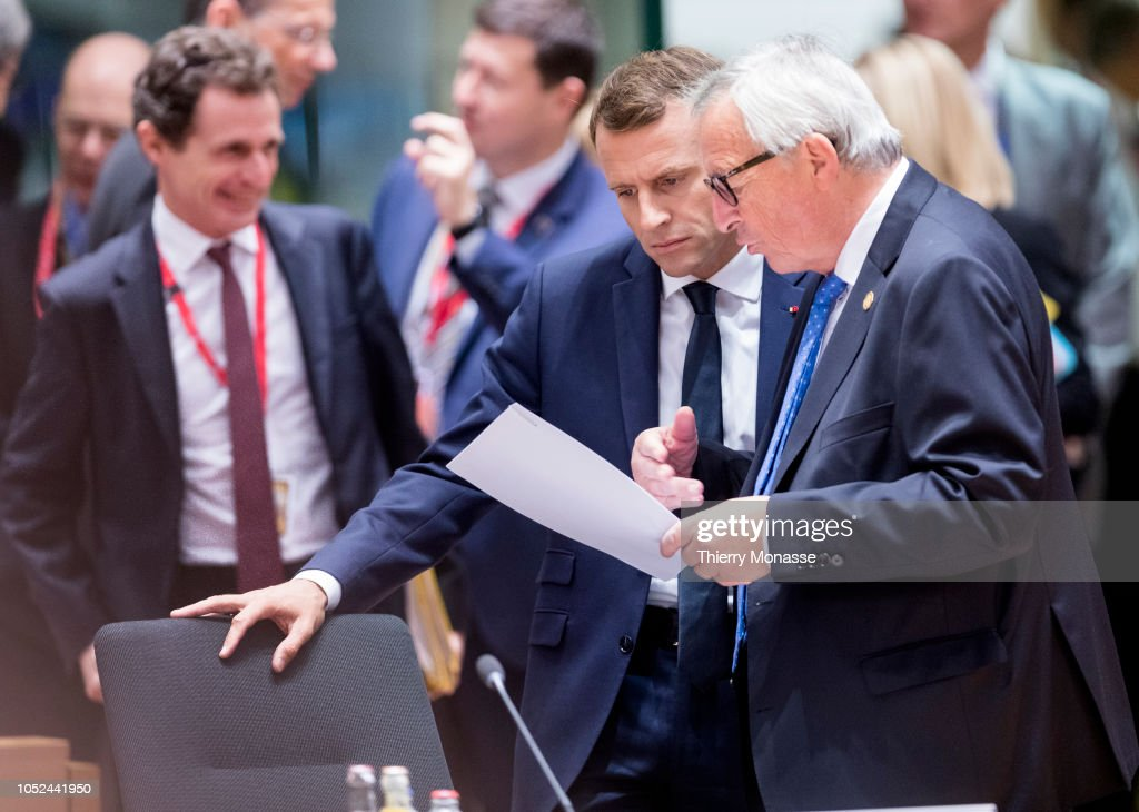 Second Day Of The October Euro Summit Takes Place In Brussels : Nachrichtenfoto