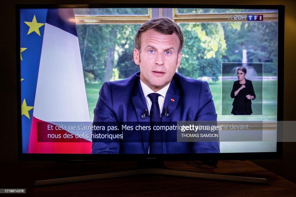 FRANCE-HEALTH-VIRUS-POLITICS : News Photo