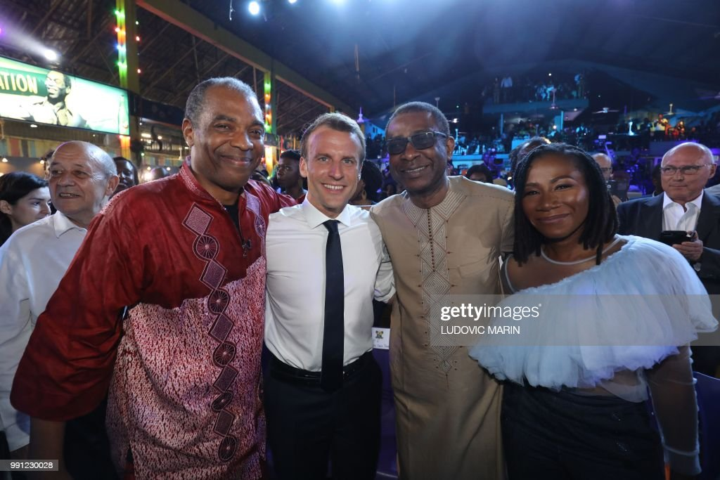 Image result for French President, Emmanuel Macron in Nigeria