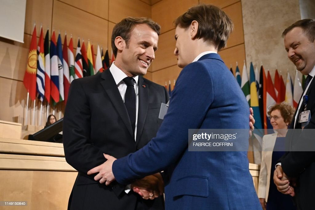 SWITZERLAND-LABOUR-ILO-POLITICS-SUMMIT : News Photo