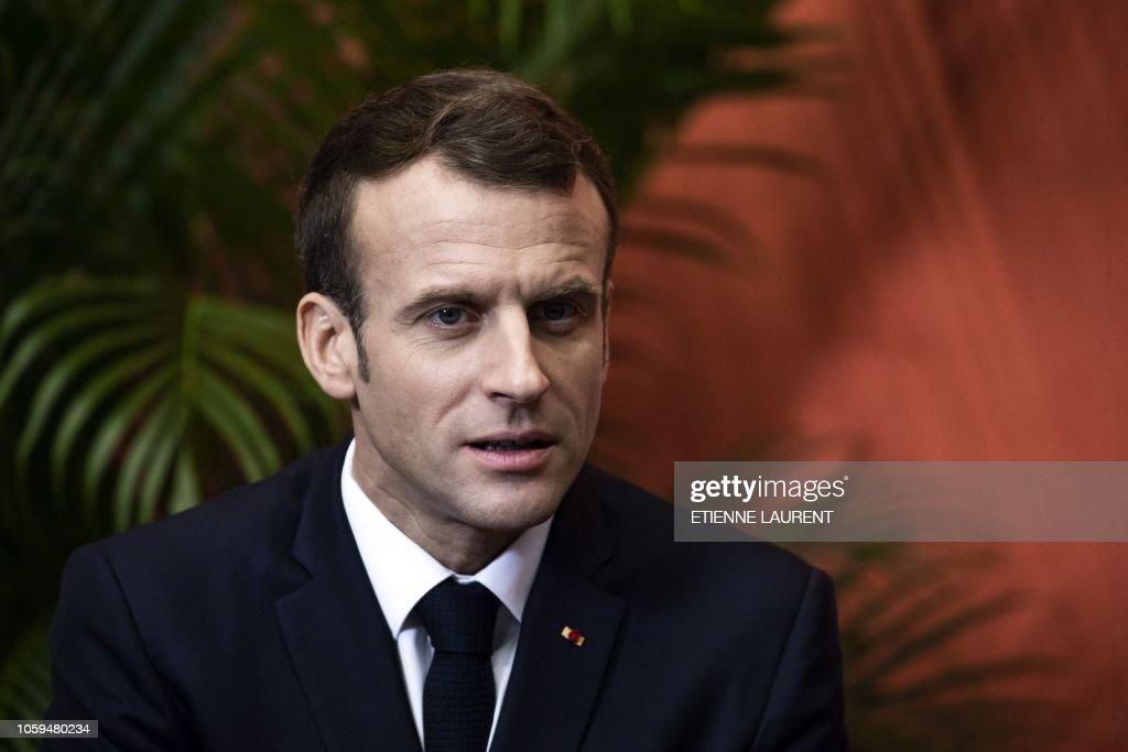 FRANCE-WWI-HISTORY-CENTENARY-POLITICS-SOCIAL : News Photo