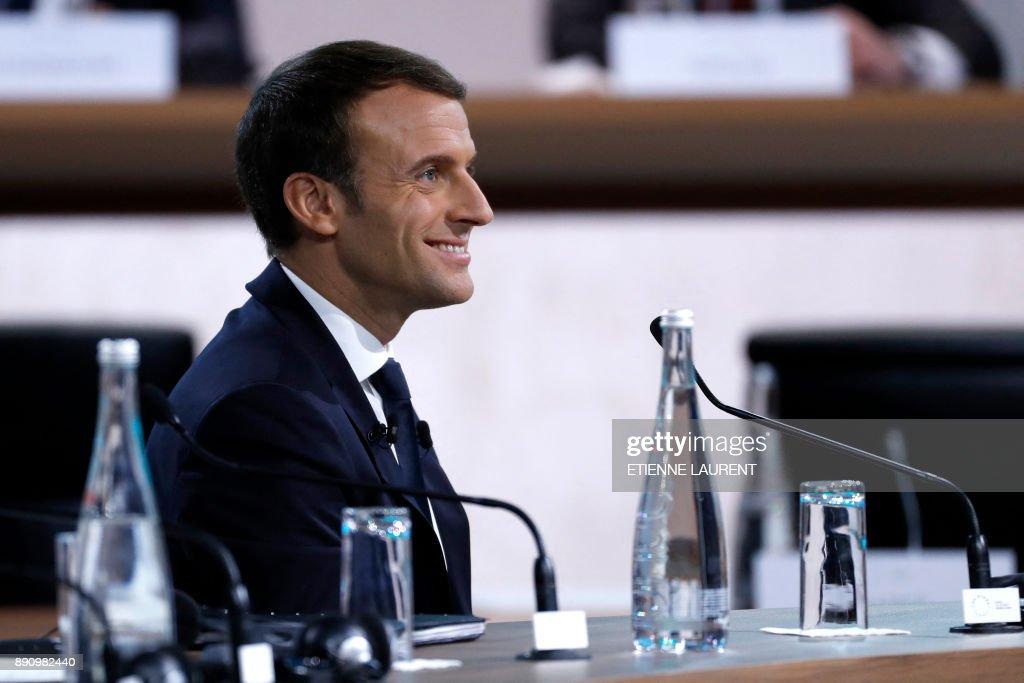 One Planet Summit In Paris