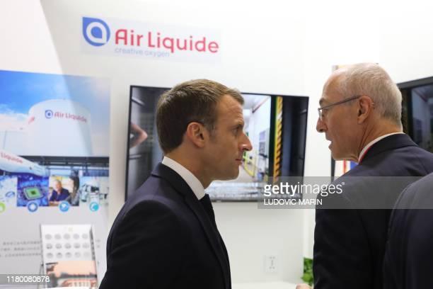 World's Best Air Liquide Benoit Potier Stock Pictures