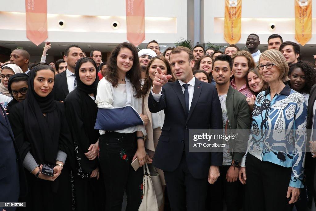 UAE-FRANCE-DIPLOMACY : News Photo