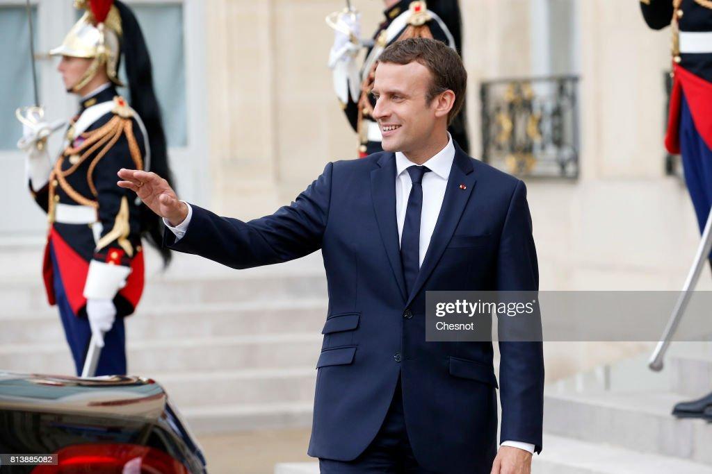 Franco-German Cabinet Meeting At Elysee Palace : ニュース写真