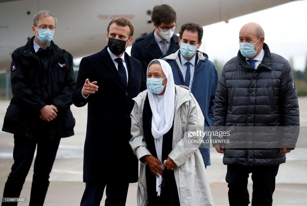 TOPSHOT-FRANCE-MALI-HOSTAGE : News Photo