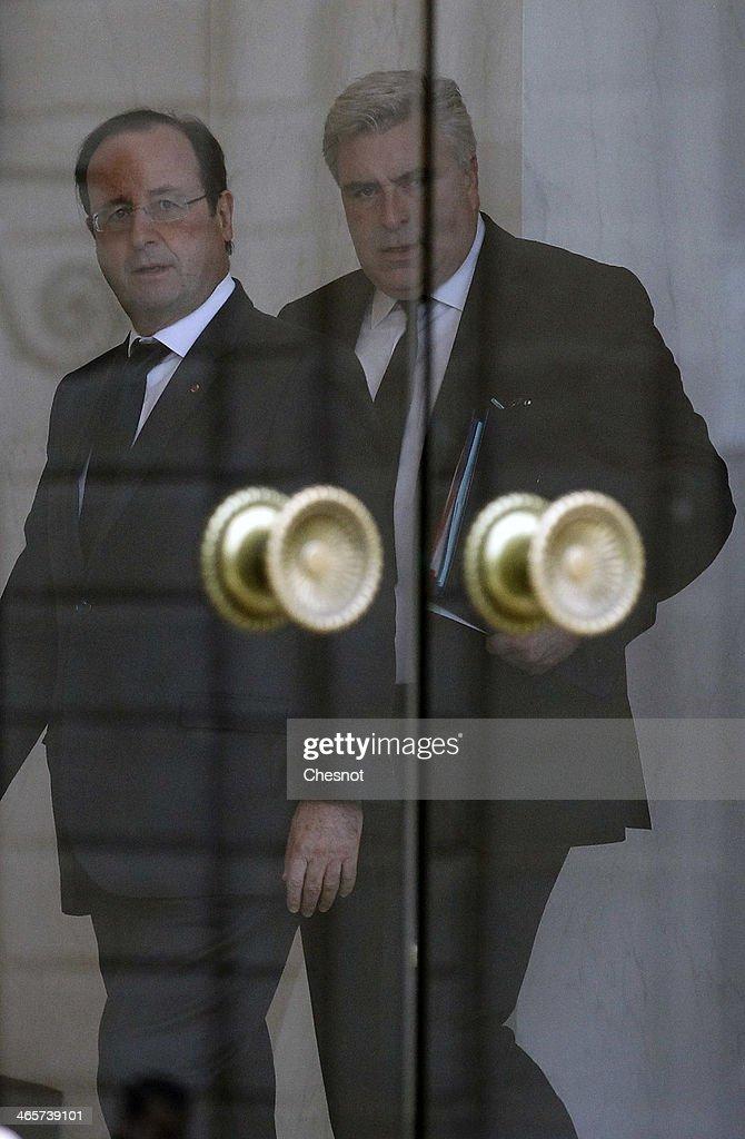 'Conseil Des Ministres' At Elysee Palace