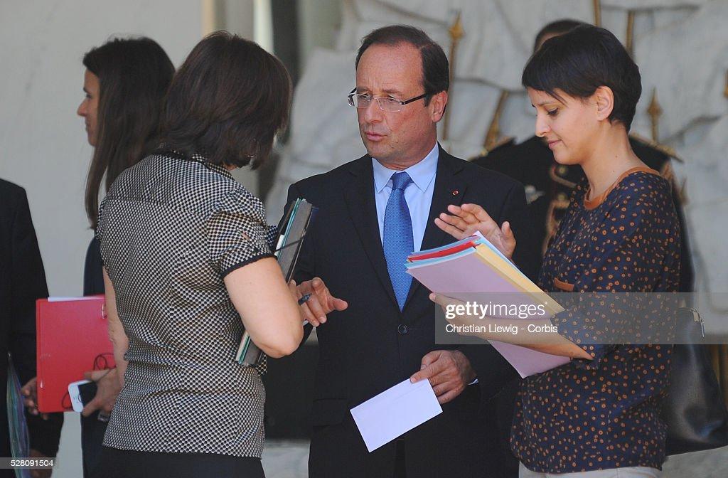 Weekly cabinet meeting - Paris : ニュース写真