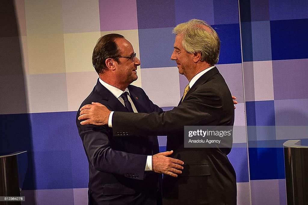 Hollande vazquez joint press conference pictures getty images french president francois hollande l and president of uruguay tabare vazquez r m4hsunfo