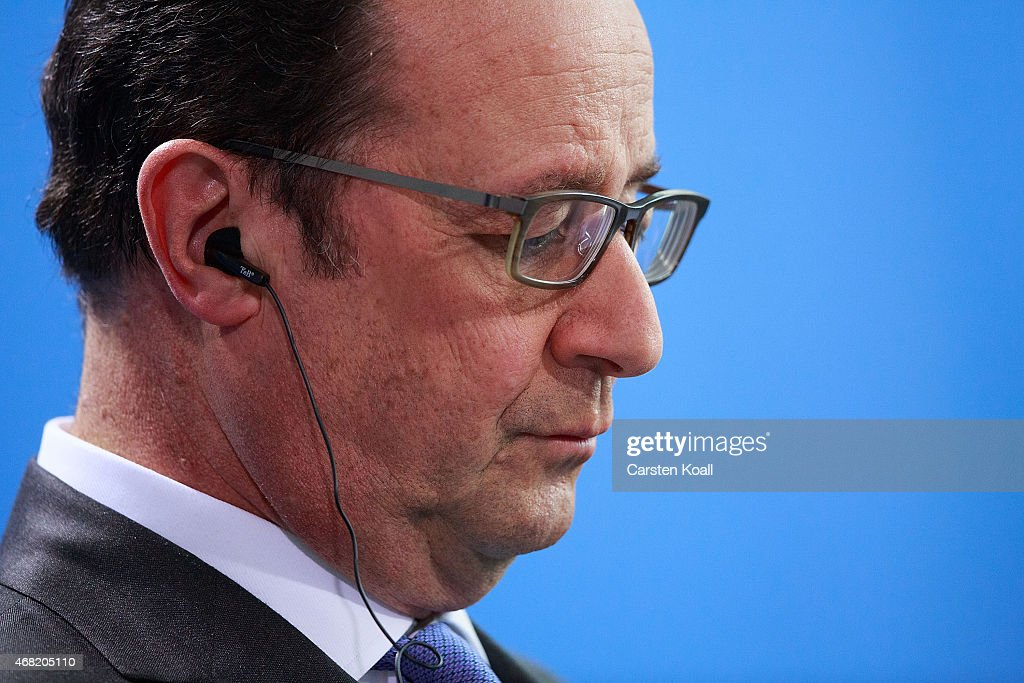 German-French Government Talks In Berlin : Nieuwsfoto's