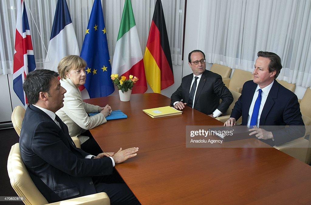 European Union Summit in Brussels : News Photo