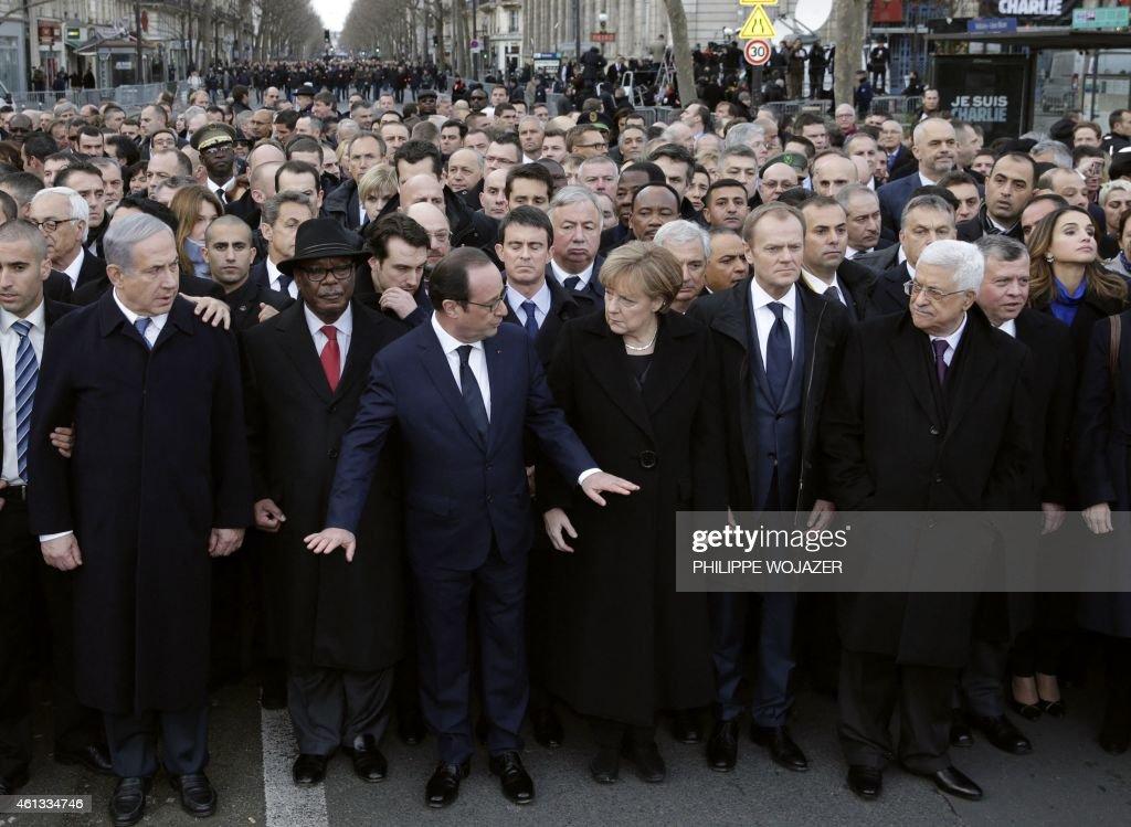 FRANCE-ATTACKS-CHARLIE-DEMO : News Photo