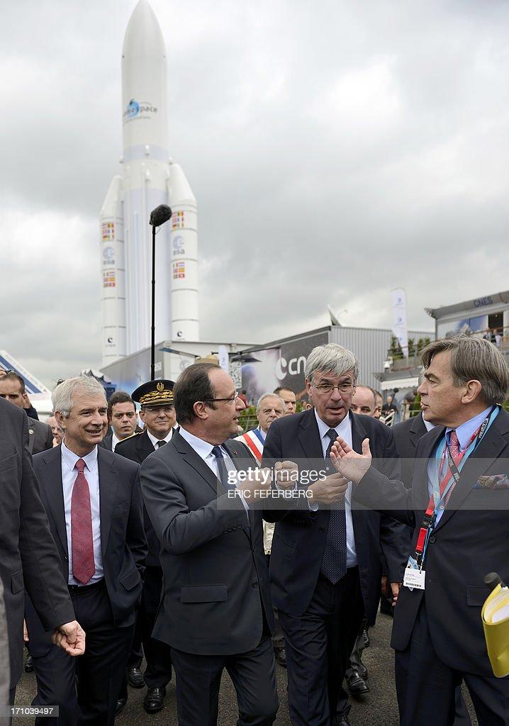 FRANCE-AEROSPACE-SHOW-BOURGET : News Photo