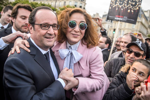 French president francois hollande l poses with a french armenian