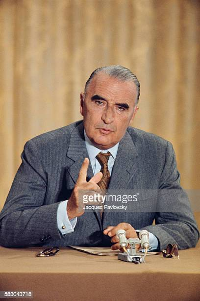 French President Georges Pompidou