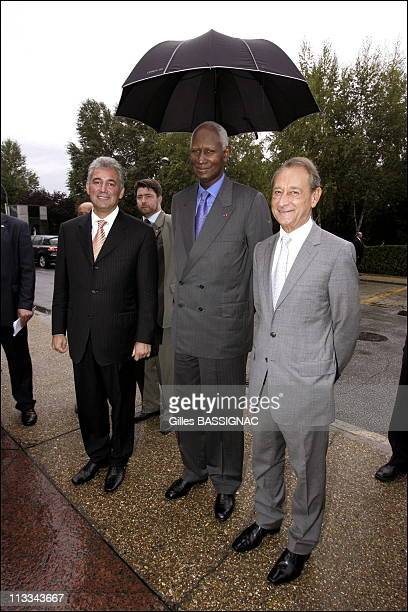 French President Jacques Chirac During French Speaking International Mayors Association Closing Ceremony On September 27Th 2006 In Bucarest Romania...