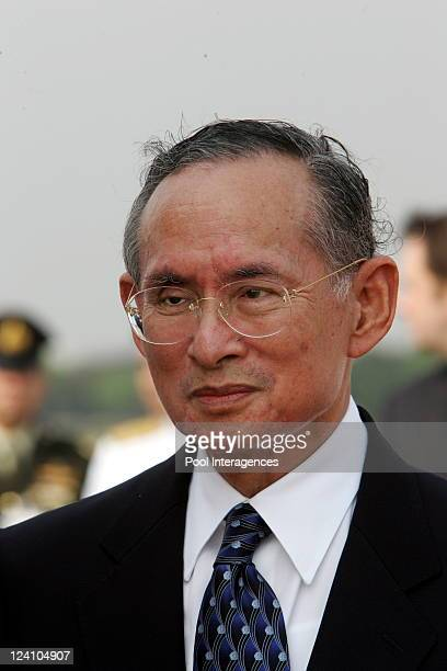 French President Jacques Chirac on a State visit to the Kingdom of Thailand In Bangkok, Thailand On February 17, 2006- Welcoming Ceremony at the...