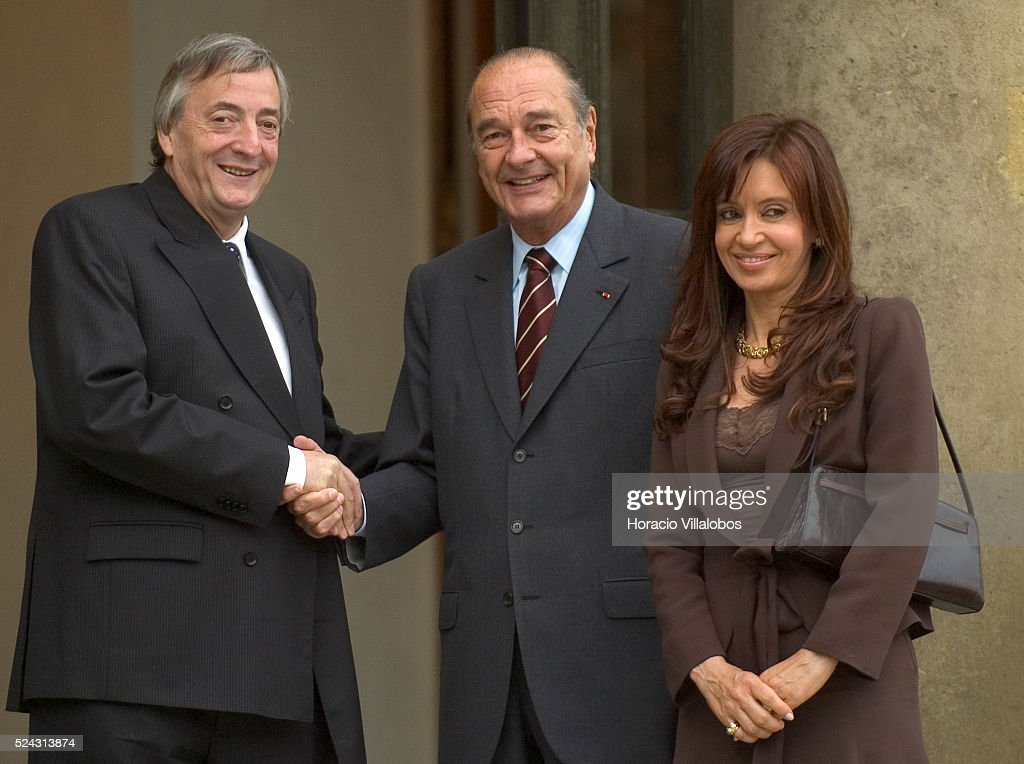 Argentine President Kirchner in France : News Photo