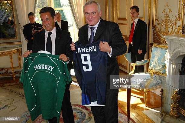 Bertie Ahern Pictures and Photos - Getty Images