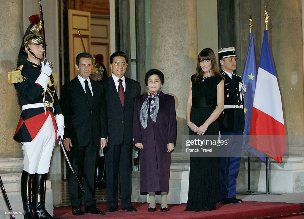 State Dinner At Elysee Palace Honouring Chinese President HU Jintao