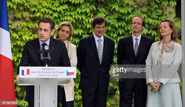 French President Nicolas Sarkozy Higher Education and Research Minister Valerie Pecresse JeanPierre Jouyet French ambassador in Czech Republic...