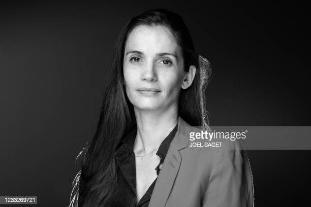 French president of the 'Women's Foundation' Anne-Cecile Mailfert, poses during a photo session in Paris on June 3, 2021. - The Women's Foundation,...