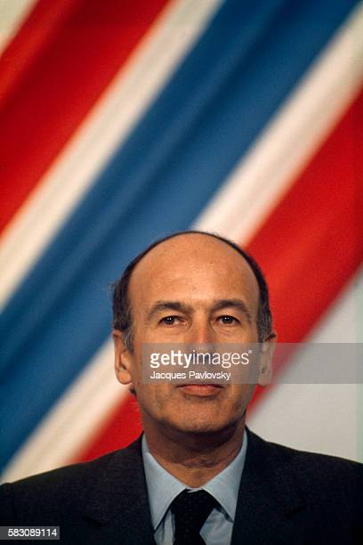 French President Valery Giscard d'Estaing Following His Election