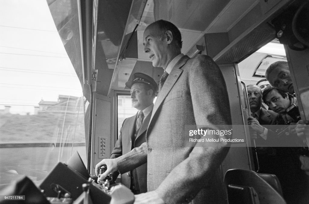 French President Valery Giscard d'Estaing : Photo d'actualité