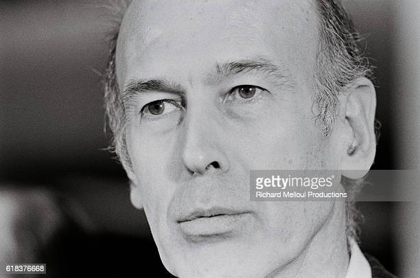 French President Valery Giscard d'Estaing