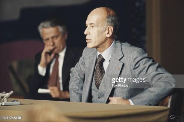 French President Valéry Giscard d'Estaing, November 1978.