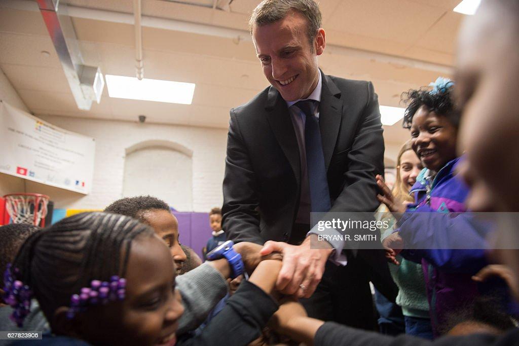 US-FRANCE-POLITICS-MACRON : News Photo