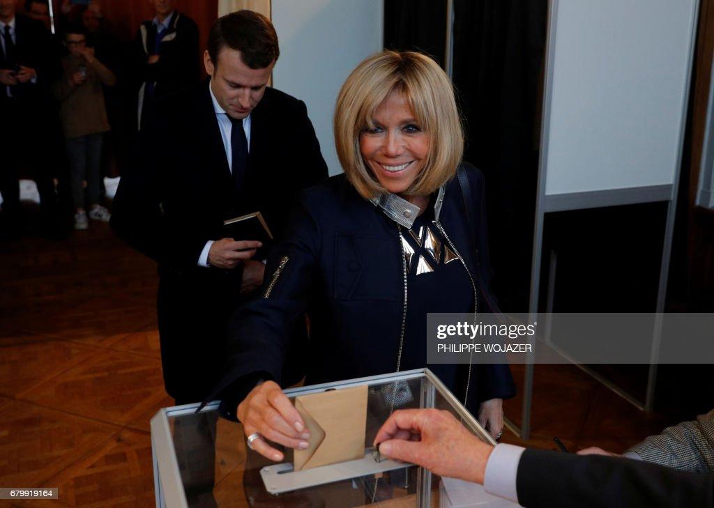 FRANCE2017-VOTE : News Photo