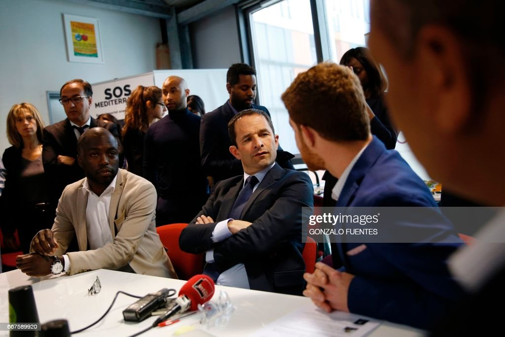 FRANCE2017-VOTE-LEFT-WING : Foto di attualità