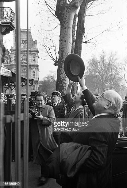 French Presidential Elections Of 1953 France Paris décembre 1953 René Coty alors viceprésident du Conseil de la République vient d'être élu 17ème...
