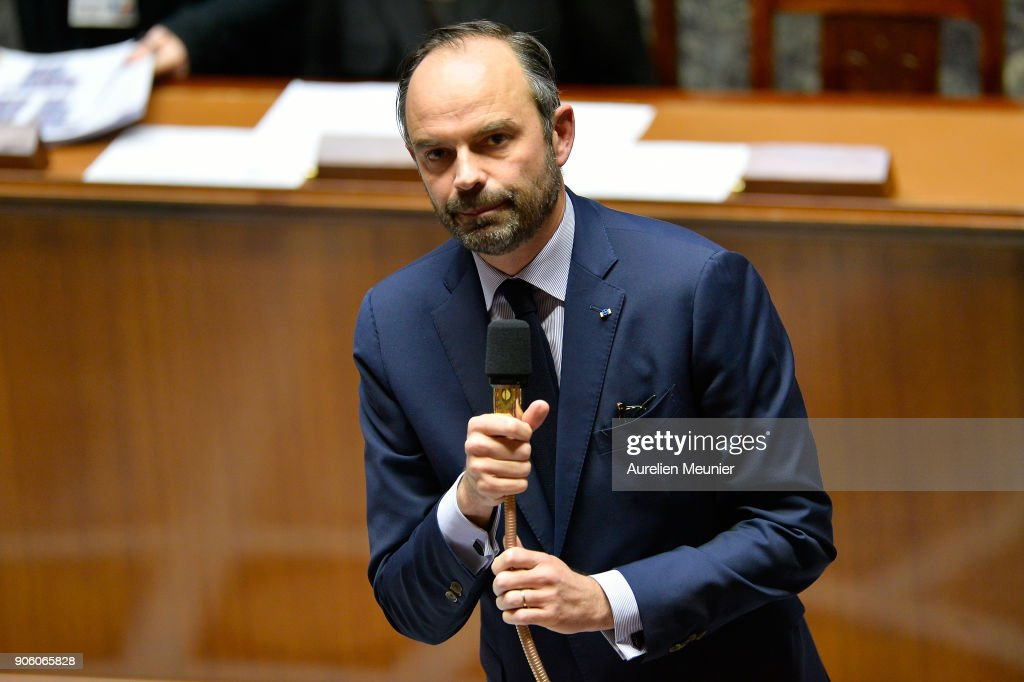 Sessions Of Questions To The Government At French Parliament