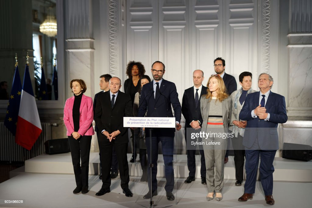French Prime Minister Edouard Philippe Visits Northern France : Day Two