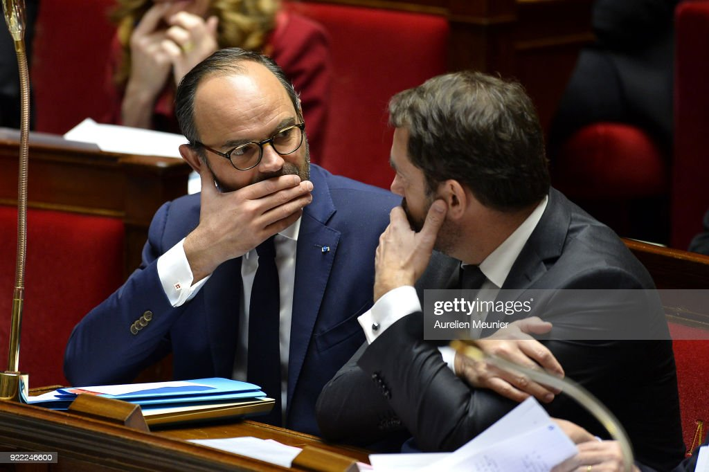Sessions Of Questions To The Government At French Assembly In Paris : News Photo