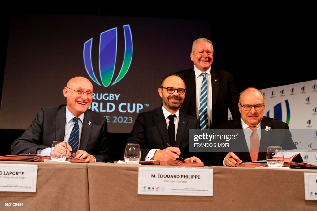 FRA-RUGBYU-WORLD-CUP-2023 : News Photo