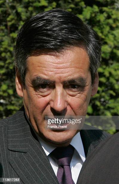 French Prime Minister Francois Fillon leaves the weekly cabinet meeting at Elysee Palace on May 4 2011 in Paris France After the death of al Qaeda...