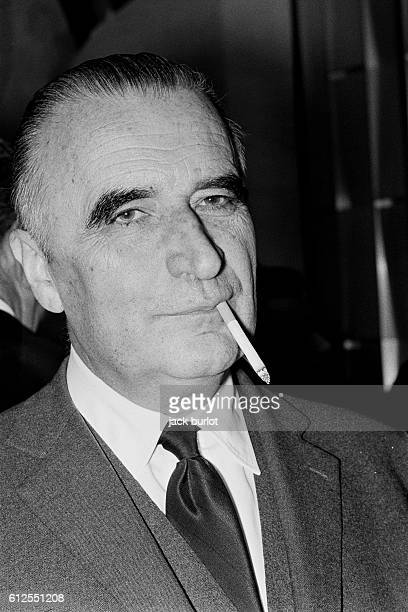 French Prime Minister Georges Pompidou