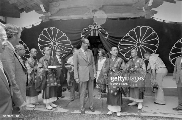 French Prime Minister Jacques Chirac and his wife Bernadette on a trip to Japan 1st August 1976
